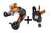 SRAM Esp X.O Desviador trasero + Cambiador de gatillo - Cambios MTB - gris/negro